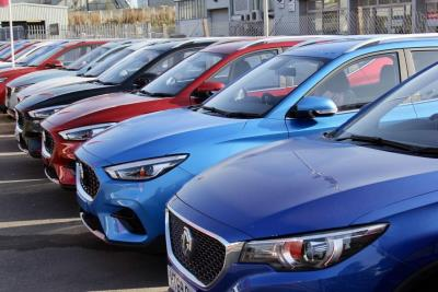 MG Charges Ahead With Best-Ever UK Sales Month