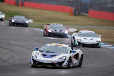 Mia Flewitt Clinches FIA Pure McLaren GT Series Title With First And Second Places In Germany