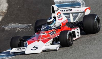 Mika Hakkinen And Mclaren Return To Monterey