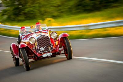 The Mille Miglia Is Alfa Romeo