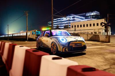 MINI Electric Pacesetter the official FIA Formula E Safety Car. Track debut at race weekend in Rome, April 10-11
