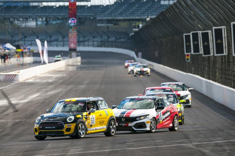 MINI USA and the MINI John Cooper Works Team Close Out TC America Season with Strong Performance at Indianapolis Finale