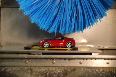 Miniature Nissan Car Wash Means Better Paint, Worry-Free Washing