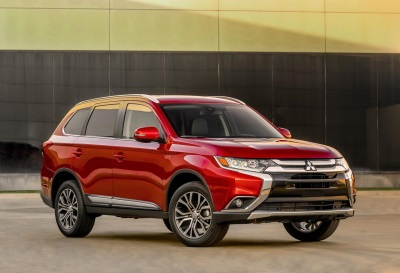 2016 MITSUBISHI OUTLANDER AWARDED INSURANCE INSTITUTE FOR HIGHWAY SAFETY (IIHS) TOP SAFETY PICK+