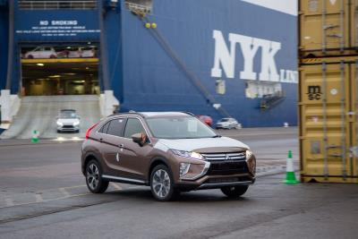 First Shipments Of All-New Mitsubishi Eclipse Cross Arrive In The UK