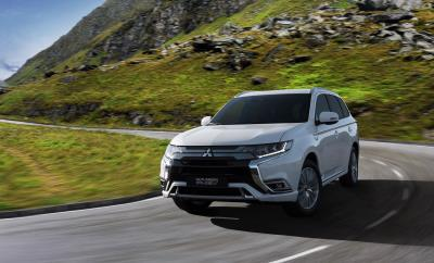 Double Premiere For Mitsubishi Motors At The 88Th Geneva International Motor Show