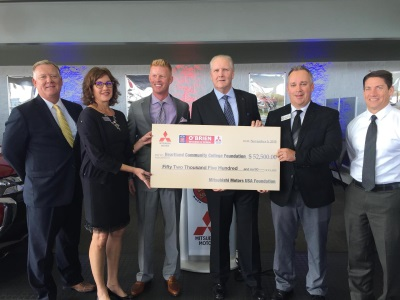 Great MITSUBISHI MOTORS USA FOUNDATION AND Ou0027BRIEN MITSUBISHI ESTABLISH  SCHOLARSHIP FUND FOR HEARTLAND COMMUNITY COLLEGE