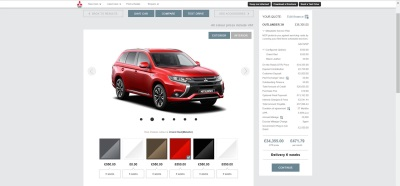 Mitsubishi Motors In The UK Launches Industry-Leading Mitsubishi Buy Online Facility