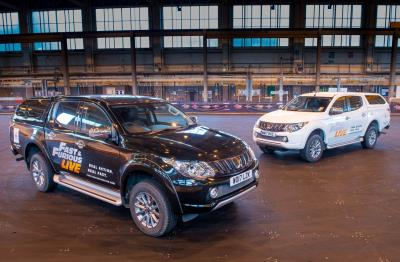 Mitsubishi Motors In The UK Announced As Support Vehicle Partner - Mitsubishi support
