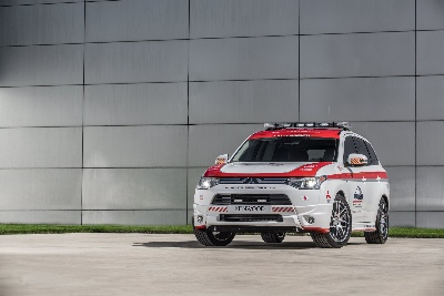 Mitsubishi Motors All-New Outlander Crossover the 'Official Safety Vehicle' of the 2013 Pikes Peak International Hill Climb (PPIHC)