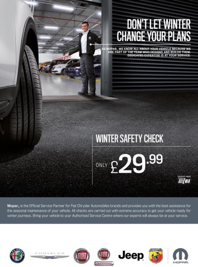 Stay Safe On The Roads This Winter With Mopar's Safety Check