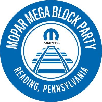 MOPAR REVVING UP TO ROCK READING WITH MOPAR MEGA BLOCK PARTY