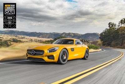 MOTOR TREND Names Mercedes-AMG GT S 2015 Best Driver's Car