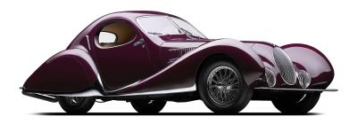 Exhibit At The Mullin Automotive Museum Presents The Rarest And Most Beautiful Cars From Preeminent French Coachbuilders