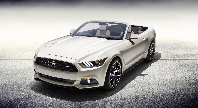 One-of-a-Kind 2015 Ford Mustang 50 Years Convertible Being Raffled to Support Multiple Sclerosis