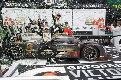 Mustang Sampling Cadillac DPi-V.R Wins Rolex 24 At Daytona