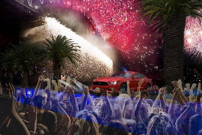 MUSTANG PACES FORD'S TRANSFORMATION AND EXCITING NEW LINE-UP BY STARRING AT SYDNEY NEW YEAR'S EVE