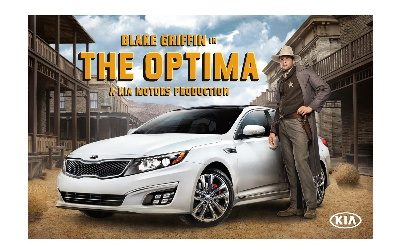 NBA ALL-STAR BLAKE GRIFFIN STARS AS A WILD WEST LAWMAN, A GLADIATOR AND A FIGHTER PILOT IN NEW AD CAMPAIGN FOR KIA