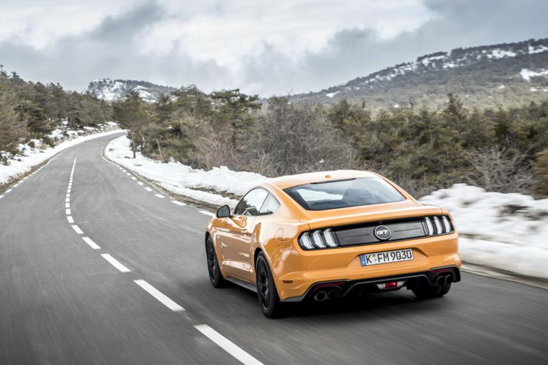 New Ford Mustang Looks Faster, Goes Faster: More Athletic Styling, Enhanced Powertrains, Advanced Driver Assist Tech