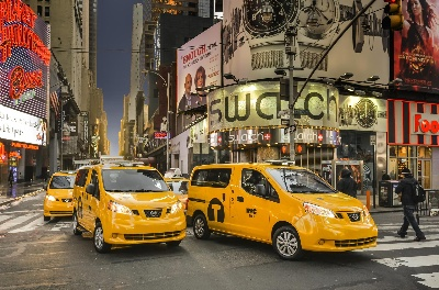 NEW YORK CITY SETS START DATE OF APRIL 20 FOR TAXI OF TOMORROW WITH NISSAN
