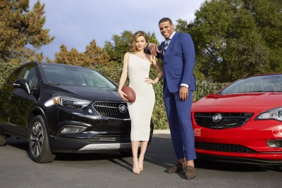 Cam Newton, Miranda Kerr And Buick Make A Not-So-Pee-Wee Super Bowl Team