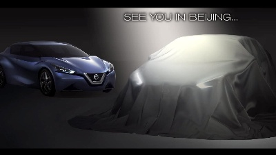 NISSAN SET TO THRILL 'AUTO CHINA 2014' WITH NEW SEDAN CONCEPT