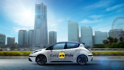 Nissan And Dena Unveil Easy Ride Mobility Service In Japan