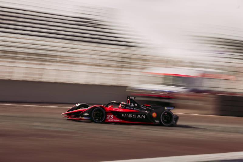 Nissan e.dams scores podium finish at the Mexico Formula E race