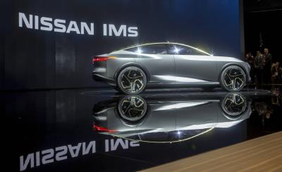 Nissan IMs EV Sports Sedan Concept Makes World Debut At 2019 North American International Auto Show