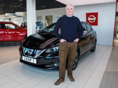 First Customer Takes Delivery Of All-New Nissan Leaf