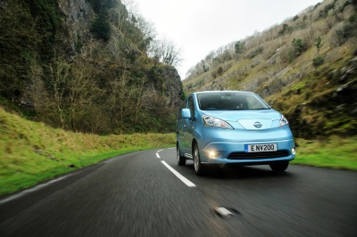 NISSAN LEAF IS UK'S FASTEST GROWING SMALL FAMILY CAR (C SEGMENT)