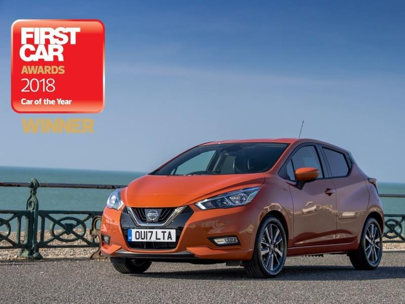 2018 Nissan Micra Wins Car Of The Year At Firstcar Awards ...