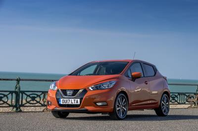 Nissan Micra Honoured In Company Car Today CCT100 Awards