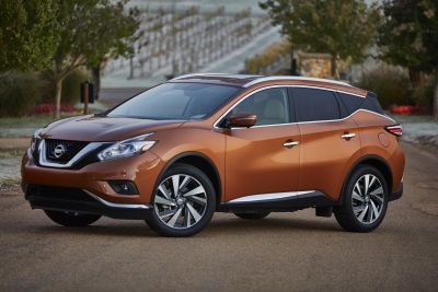 NISSAN MURANO NAMED ONE OF THE '10 BEST FAMILY CARS OF 2015' BY PARENTS MAGAZINE AND EDMUNDS.COM