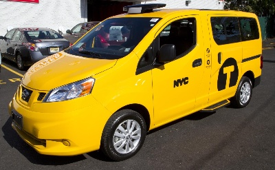 NISSAN'S NEW MARKETING CAMPAIGN EMPOWERS NEW YORKERS TO SAY #HAILYES TO NV200 TAXI