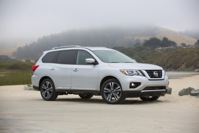 Nissan Pathfinder Named One Of The '12 Best Family Cars Of 2017' By Kelley Blue Book's Kbb.Com