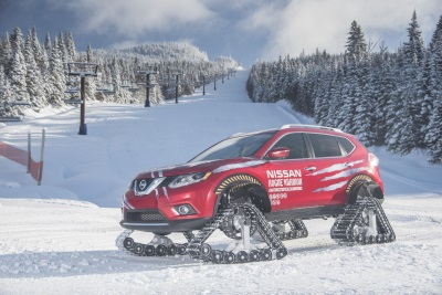 NISSAN UNLEASHES A WARRIOR IN THE FACE OF CANADIAN WINTER