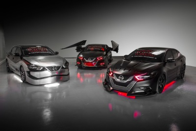 Nissan Unveils Six Star Wars: The Last Jedi-Inspired Show Vehicles At 2017 Los Angeles Auto Show
