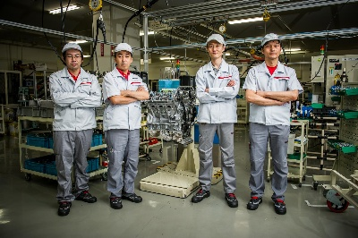 NISSAN'S LEGENDARY TAKUMI: FOUR MASTER CRAFTSMEN WHO HAND-BUILD EVERY NISSAN GT-R ENGINE