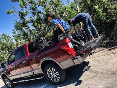 Nissan Titan Joins Top Fly-Fishing Guide Hilary Hutcheson To Help Revamp Florida Keys In Wake Of Hurricane Irma