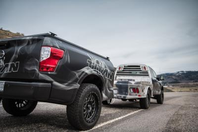 Nissan Smokin' Titan Begins Its Road-Tripping Adventure To The Great Titan Meat Up