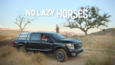 Nissan Titan Targets Younger Buyers And Injects Levity Into Serious Realm Of Truck Advertising With 'No Lazy Horses'