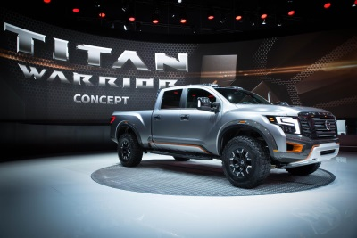 NISSAN TITAN WARRIOR CONCEPT AND NISSAN IDS CONCEPT FEATURED AT 2016 NORTH AMERICAN INTERNATIONAL AUTO SHOW