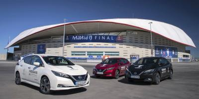 Nissan Electrifies UEFA Champions League Final In Madrid