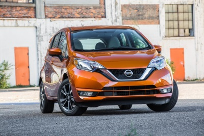 Nissan Versa Note Named One Of Kelley Blue Book's Kbb.Com '10 Best Back-To-School Cars Of 2017'