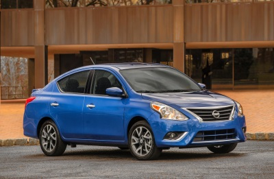 NISSAN ANNOUNCES U.S. PRICING FOR 2016 VERSA SEDAN