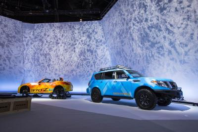 Nissan Brings 'Winter Wonderland' And A Pair Of Custom Vehicles To 2018 Chicago Auto Show