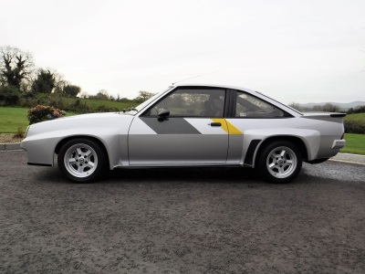 Rare, Rally-Bred Opel Manta 400 For Auction At Cca