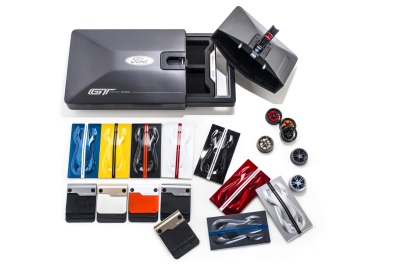 ONE-OF-A-KIND ORDER KIT LETS OWNERS GET IN TOUCH WITH THEIR FORD GT DREAM CAR -- PIECE BY PIECE