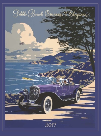Pebble Beach Concours d'Elegance Announces 2017 Features and Special Classes